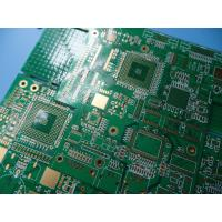 Wholesale GPS Logger 10 Layer BGA PCB High Tg FR4 1.6mm 1oz With Green Mask from china suppliers