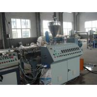 Wholesale Energy Saving PE Additives WPC Extrusion Machine , Screw Type from china suppliers