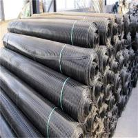 Wholesale 3.95 Meter width black color  PET/PE Geogrid For Slope Stabilization by sincere factory/supplier/manufacturer from china suppliers
