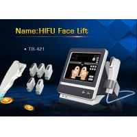 Wholesale 5 Handle Treatment HIFU High Intensity Focused Ultrasound Machine for Wrinkle Removal from china suppliers