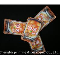 Wholesale Mini Recyclable Snack Packaging Bags With Zipper Gravure Printing 100 Microns Thick from china suppliers