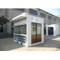 Wholesale Easy Installation Commercial Prefab Buildings Modern Prefab Homes Eco Friendly For Shop from china suppliers