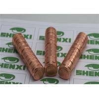 Wholesale 18650 / 18350 Mechanical Mod Tiger Panzer E Cig Mod Copper from china suppliers