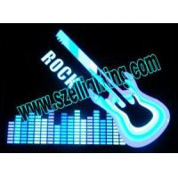 Wholesale EL Guitar Car Sticker, Music Active Car Stickers from china suppliers