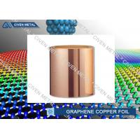 Wholesale MEMS and NEMS Graphene Copper Foil 150m length x 150mm width x 25um thickness from china suppliers
