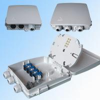 Wholesale Indoor 8 Cores Ftth Terminal Box Fiber Optic Wall Mounting With Plc Splitter / Pigtail And Adapters from china suppliers