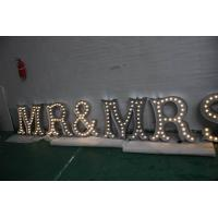 Quality LED Lighted Channel Letter Signs , Battery Powered Marquee Letters And Numbers for sale