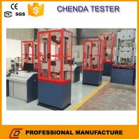 Buy cheap 1000kn Hydraulic Universal Testing Machine +Steel Rebar Tensile Strength Testing Machine from wholesalers