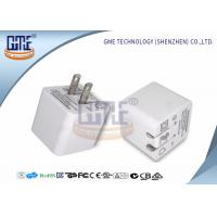 Wholesale Ultrasonic Thin Folding Pin Universal USB Power Adapter AC TO DC 2.4A US Standard from china suppliers