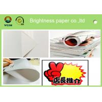 Quality Durable 105 Gsm Glossy Laser Paper , Glossy Brochure Paper Moisture Proof for sale