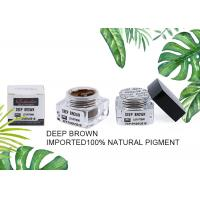 Wholesale Colour Deep Brown Eyebrow Tattoo Ink Microblading Pigments For Semi Beauty Makeups from china suppliers