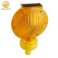 Wholesale Solar Panel 0.3W ABS Amber Rechargeable Warning Light 185*95*325MM from china suppliers