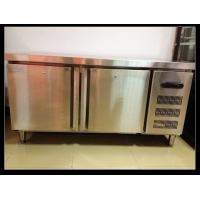Wholesale Double Doors Under Counter Freezer , Hotel Stainless Steel Freezer from china suppliers