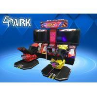 Wholesale 42 Inch Screen Motor Car Racing Two Player Arcade Game Machine from china suppliers