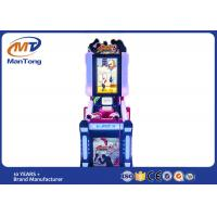 Wholesale Coin Pusher Arcade Game Machines , Strong Fighters Arcade Training Boxing Punch Game Machine from china suppliers