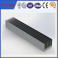 Wholesale OEM 300 types per year anodized aluminum alloy profile extruded aluminum heatsink from china suppliers