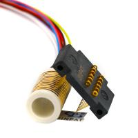 Wholesale 12 Circuits Gold to Gold Contact 250mm Flexible Rotary Electrical Swivel Joint from china suppliers