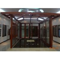 Quality Aluminum Porch Door Sun Room/ Glass Room for sale