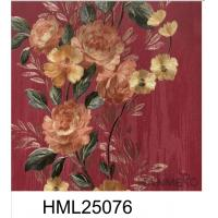 Buy cheap European Style Peony Colorful PVC 0.53*10M Home Decor Wallpaper from wholesalers