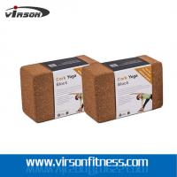 Wholesale Natural Cork Yoga Block For Stretching And Holding Poses from china suppliers