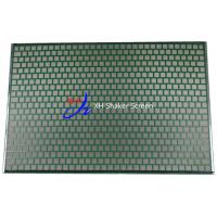 Wholesale 2000 Hookstrip Flat Shale Shaker Screen 48-30 Notch On Both Sides Drilling Fluid Equipment from china suppliers