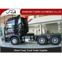 Wholesale Howo A7 Tractor Head Trucks With One Beth 10 Wheerler 420 Horse Power from china suppliers