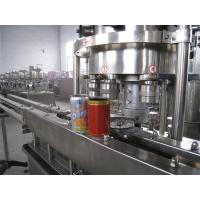 Wholesale Automatic Beverage POP Can Filling Machine For Tinplate Can / Aluminum Can / PET Plastics Can from china suppliers