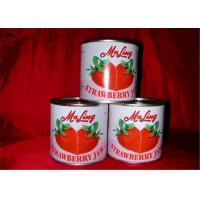 Quality Natural Organic Tropical Canned Fruit / Canned Strawberries New Season for sale