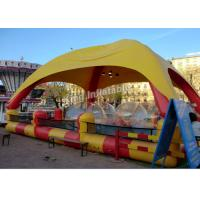 Wholesale Outdoor Sports Summer Inflatable Water Pools In Rectangle Shape With Tent from china suppliers