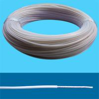 Wholesale Transparent Tinned/Silver-coated copper conductor PTFE/PFA/FEP insulated wires and cables from china suppliers