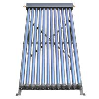 Wholesale 14mm Condenser Copper Heat Pipe Solar Collector With 24 Tubes Black Aluminum Alloy Frame from china suppliers