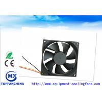 Wholesale Plastic DC Axial Fans 12V 24V 48V , Electronics Cooling Fans 92mm X 92mm X 25mm from china suppliers