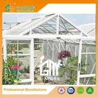 Wholesale 377X253X250CM White Color Imperial Series Double Door Glasshouse from china suppliers