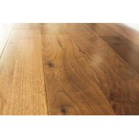 Wholesale American walnut solid hardwood floors, real solid floors, ABC grade, flat surface with semi-gloss from china suppliers
