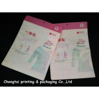 Wholesale OEM Custom Clothing Packaging Bags / Garment Plastic Pouches Eco - Friendly from china suppliers