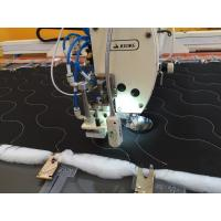 Quality Down Jacket Automatic Sewing Machine , Auto Cutter Overlock Sewing Machine for sale