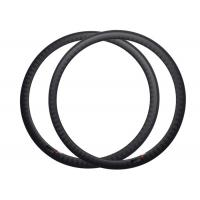 Wholesale 38mm Depth Carbon Fiber 700c Rims , Road Bike Wheel Rims 1 Year Warranty from china suppliers