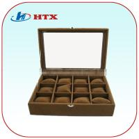 Wholesale Hot Sale Brown Color Wood Packing Box for Jewelry/Ring/Earring from china suppliers