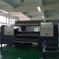 Wholesale Flatbed 1.8 m Cotton Digital Textile Printer With 4 - 8 Kyocera Printhead from china suppliers