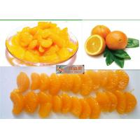 Wholesale Sweet Organic Canned Fruit Navel Oranges In Light Syrup 312g Whole Orange Segments from china suppliers