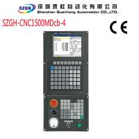 Wholesale vertical CNC milling controller with USB and 4(X/Y/Z/A) axis , PLC programming from china suppliers
