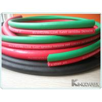 Wholesale High Pressure Smooth Textiel Braided Compressor Single Rubber Welding Hose from china suppliers