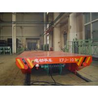 Wholesale Heavy Load Cable Drum Powered Rail Transfer Trolley for Steel Mill Handling from china suppliers