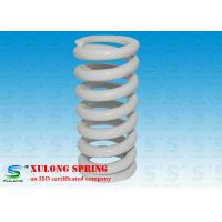 Wholesale White Plating Customized Elevator Compression Springs Oil Tempered Steel Material from china suppliers
