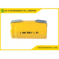 Wholesale SC 1800mah 1.2V Nickel Cadmium Battery NICD Charger Cylindrical Cell Type from china suppliers