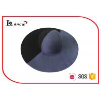 Wholesale Double Color Wool Felt Hat , Joint Style Wide Birmmed Floppy Hat from china suppliers