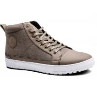 Buy cheap Super Lace Up Mens Casual Boots Shoes , Ankle Canvas Sneaker Shoes from wholesalers