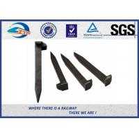 Wholesale Railroad Track Spikes / Dog Spike For Timber Sleeper GOST5812 Standard from china suppliers
