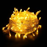 Wholesale 100-LED Yellow Light Christmas Wedding Decoration string light from china suppliers