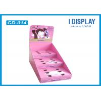 Wholesale Pink Cardboard Counter Display , 3 Tier Counter Display For Dressing Mirror from china suppliers